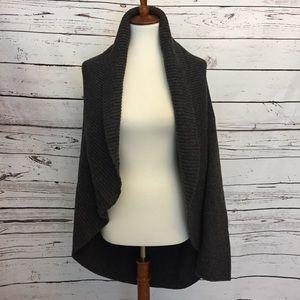 PureJill wool blend open front cardigan